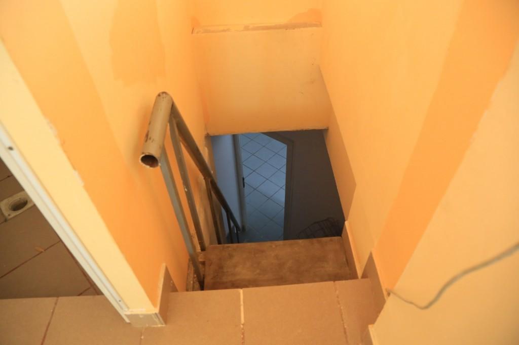 Scari etaj: imagine sus